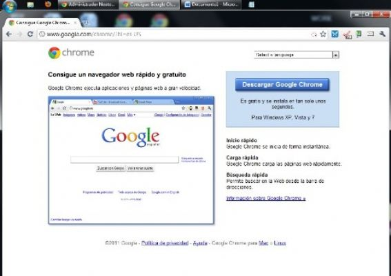 Chrome, navegadores, browser